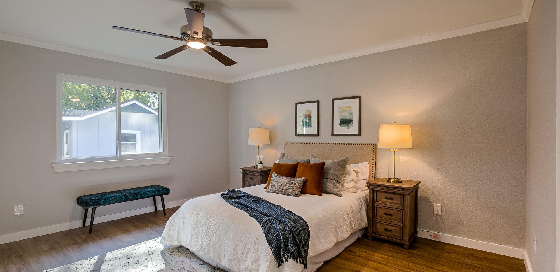Burly Oak Master Bedroom