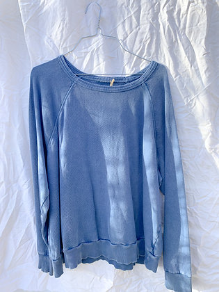 Easy Chambray Sweatshirt