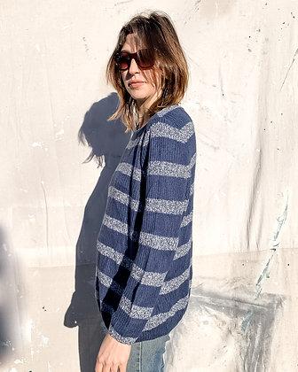 Blue Striped Sweater I