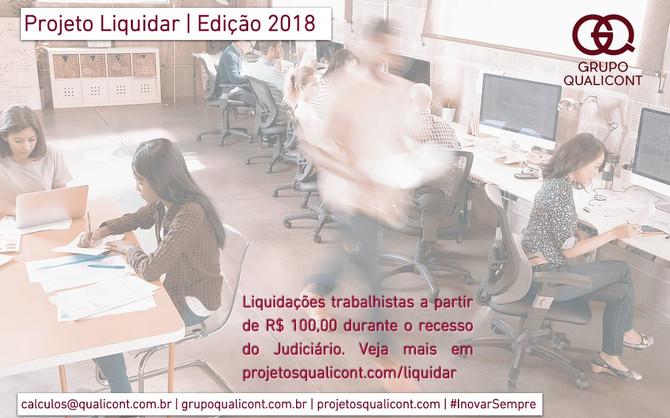 Grupo QUALICONT divulga detalhes da edição 2018 do promoção Projeto Liquidar
