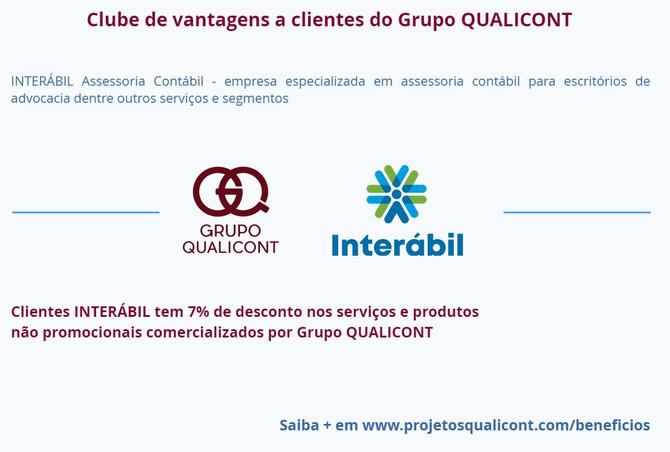Grupo QUALICONT fecha parceria com INTERÁBIL para Assessoria Contábil de Escritórios Jurídicos no RJ