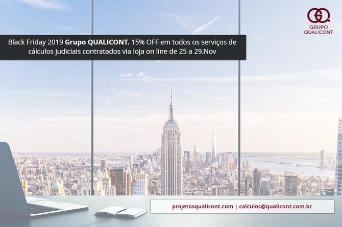Grupo QUALICONT participará da Black Friday 2019
