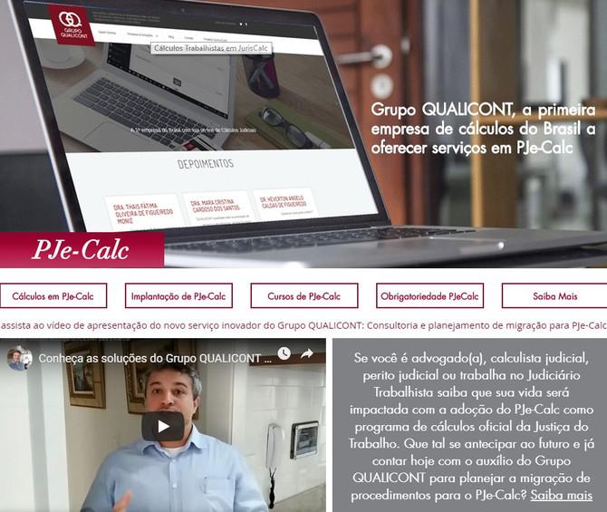 QUALICONT lança novo serviço: Consultoria para implementação de PJe-Calc
