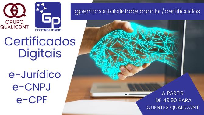Novo serviço Grupo QUALICONT - Certificação Digital