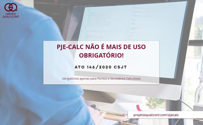 PJe-Calc deixa de ser de uso obrigatório para cálculos na Justiça do Trabalho