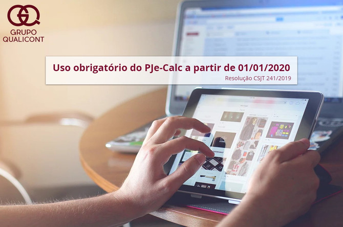 Consulte agenda 2019 dos cursos práticos de PJe-Calc ministrados por Grupo QUALICONT