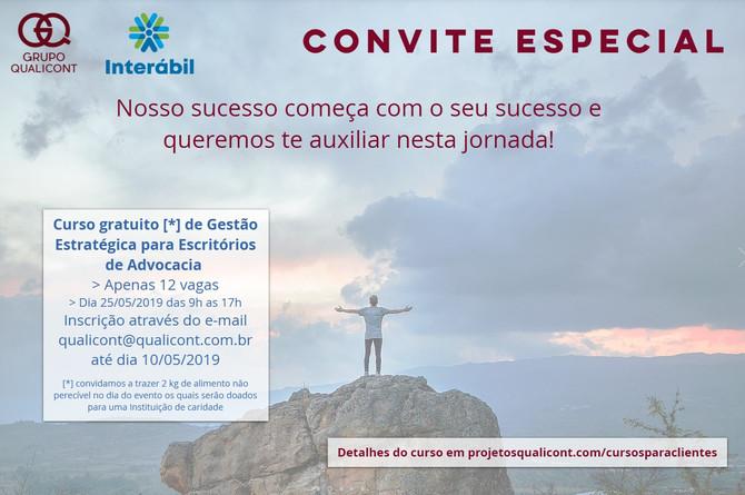 Novo curso gratuito e presencial para clientes QUALICONT/INTERÁBIL já tem data
