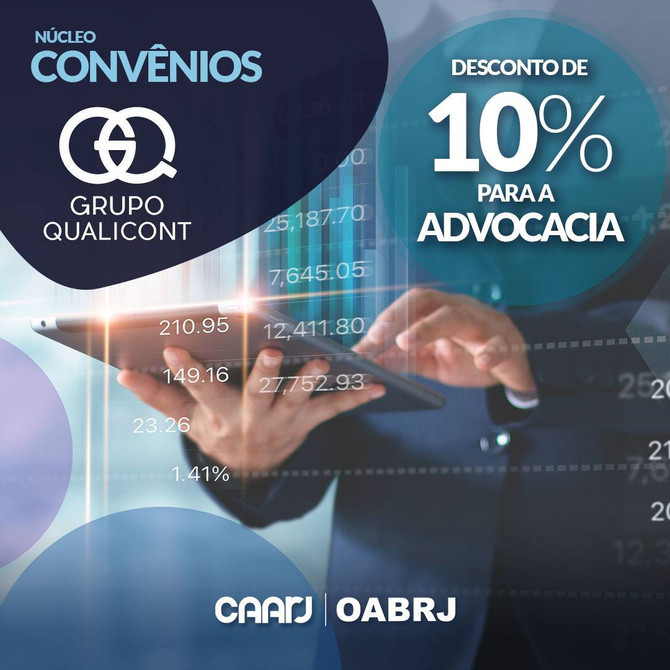 CAARJ é a mais nova parceira comercial do Grupo QUALICONT no RJ