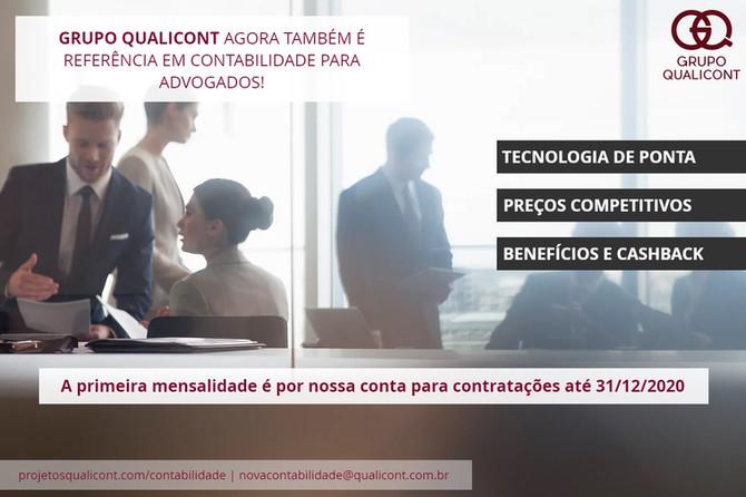 Grupo QUALICONT lança novo produto de Assessoria Contábil para Escritórios de Advocacia