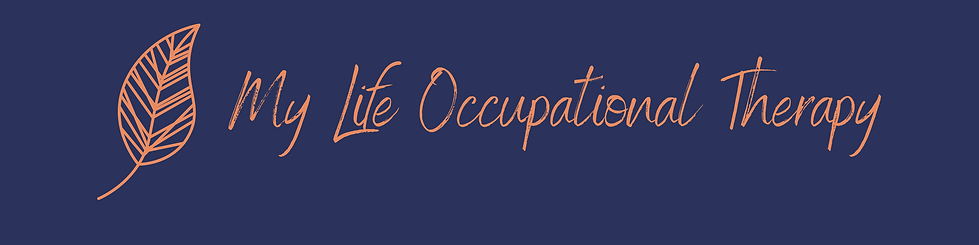 Large Banner size My Life Occupational T