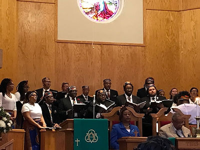 FSU Concert Choir at John Wesley Church.