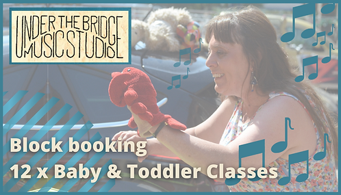 Baby/Toddler classes x 12