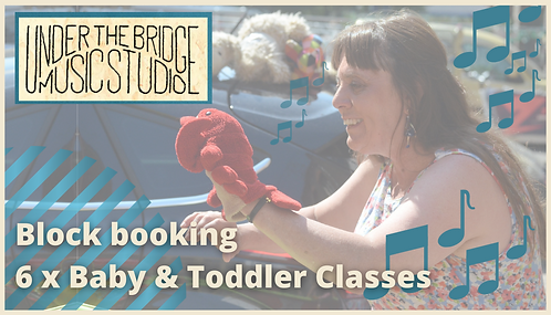 Baby/Toddler classes x 6