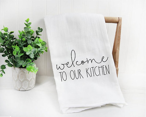 Welcome to Our Kitchen