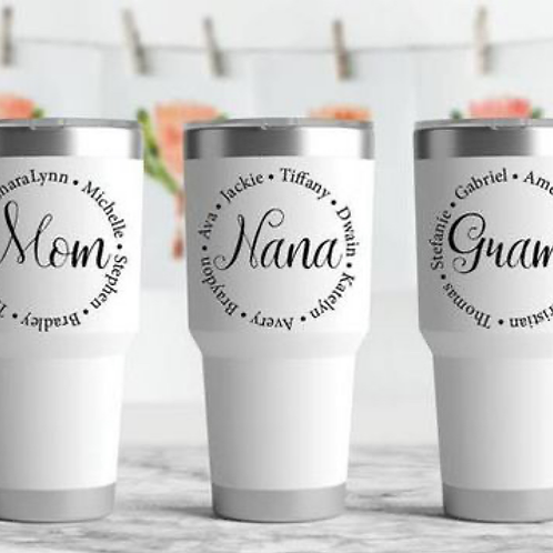 Personalized 30oz Tumblers