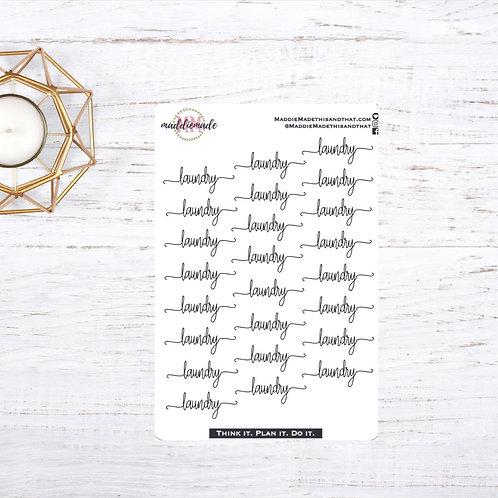 Laundry Script