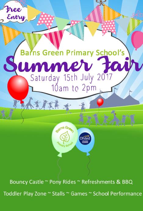 Barns Green Summer Fair
