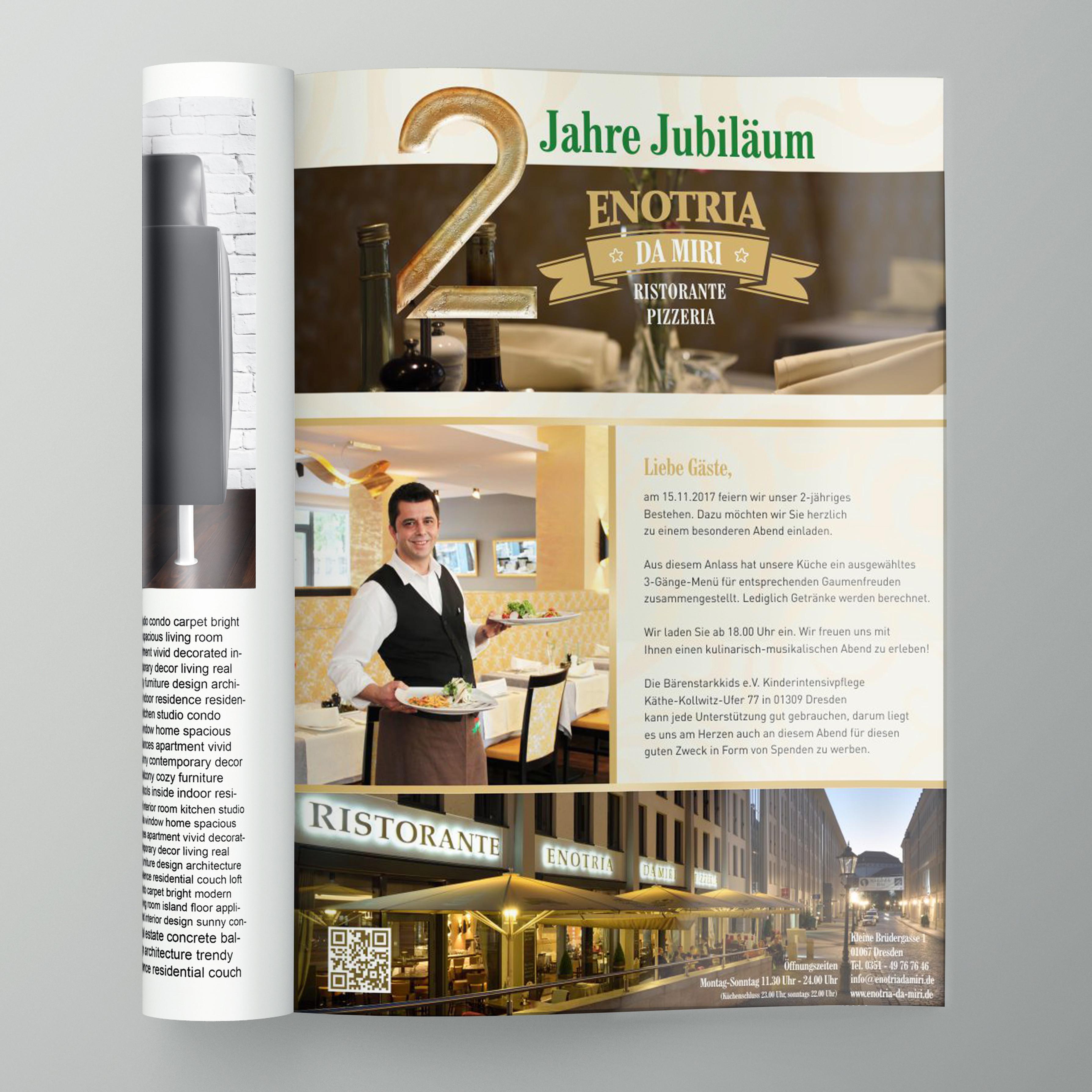 ENOTRIA DA MIRI; Corporate Design, Print