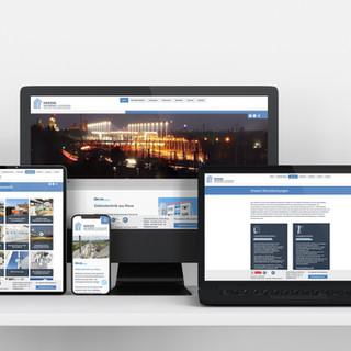 HERZOG & PARTNER; Webdesign