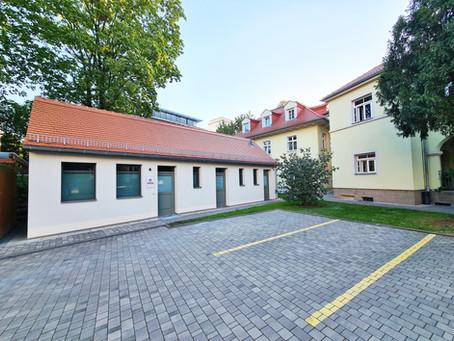 Eröffnung der Zweigstelle Dresden