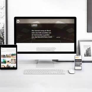 IBLANGER; Corporate Design, Webdesign