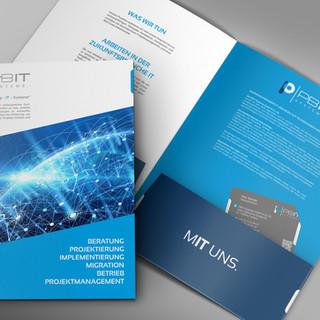 PBIT SYSTEME; Printdesign, Kampagnengestaltung