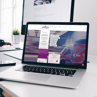 PROVITUS; Webdesign