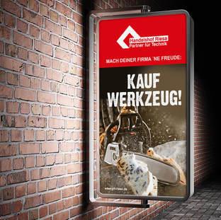 HANDELSHOF; Kampagne, Außenwerbung