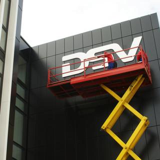 DSV; Schilderherstellung & Montage