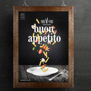 PANE & VINO; Printdesign, Kampagnengestaltung