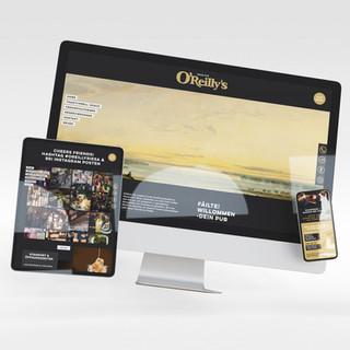 OREILLY`S IRISH PUB; Webdesign