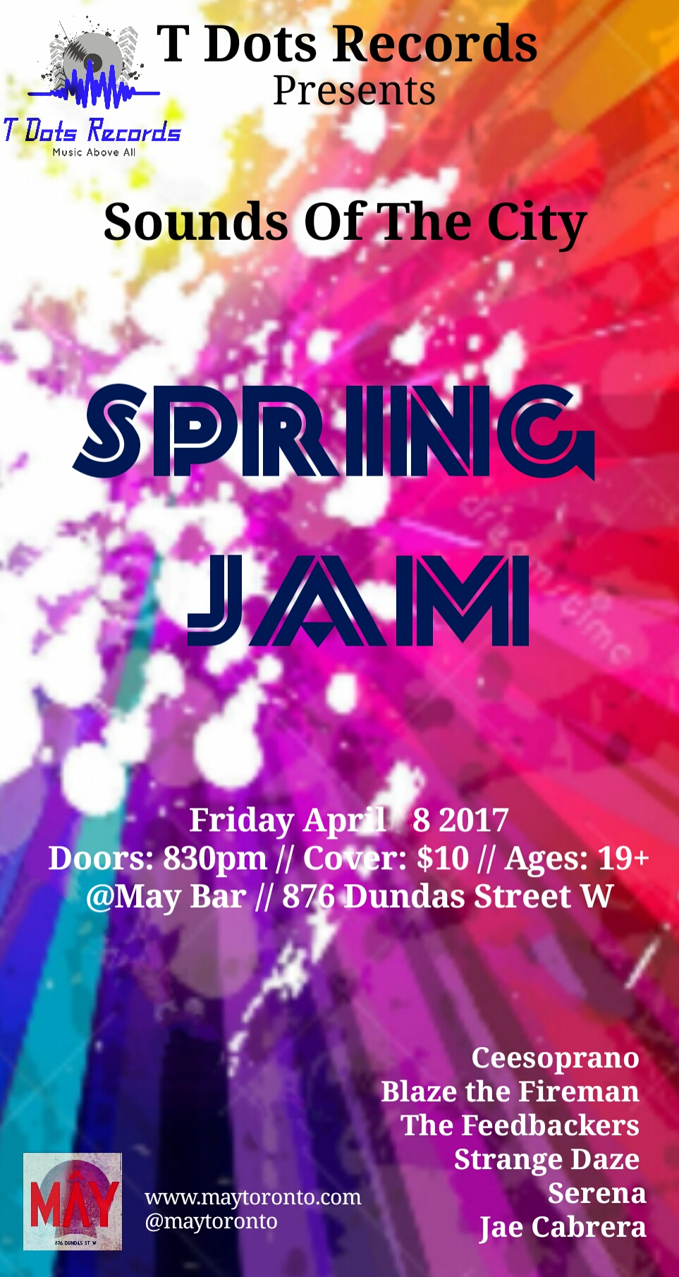 SpringJamm_SerenaOfficial_April 8th_MayBar