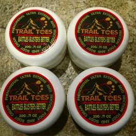 20 Gram 4 Pack Trail Toes Foot and Body Cream