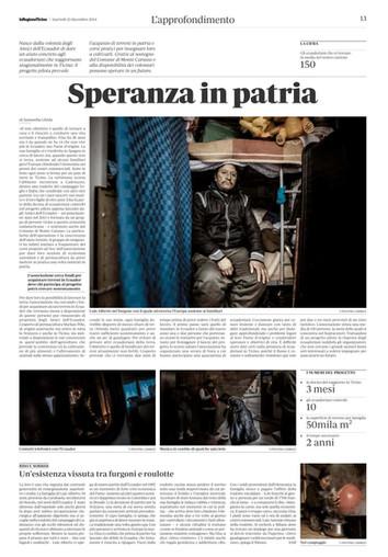 La Regione - 23.12.2014