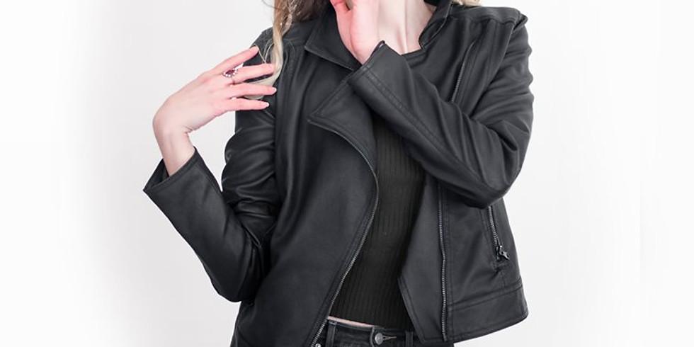 $1.00 Fashion Photoshoot - Leather Jacket