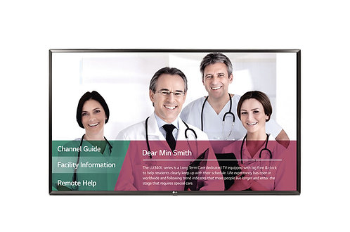 "32LT662MBUC / 32"" LG LT662M Series UL-Listed Pro:Centric Hospital TV"