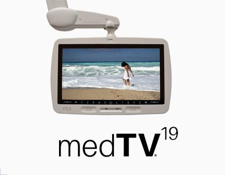 "PDI-P19TV-xG-C / Healthcare Grade 19"" MedTV (Pillow Speaker)"