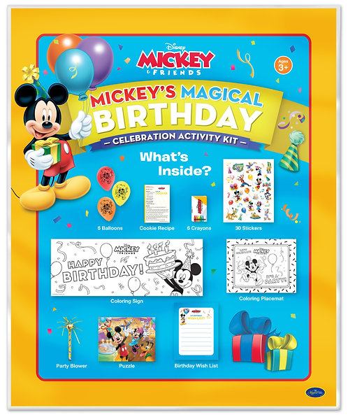 Disney Mickey's Magical Birthday Activity Kit