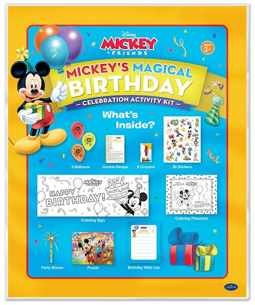 Disney Mickey's Magical Birthday Activity Kit