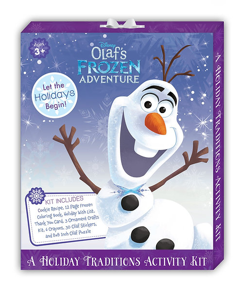 Disney Frozen A Holiday Traditions Activity Kit