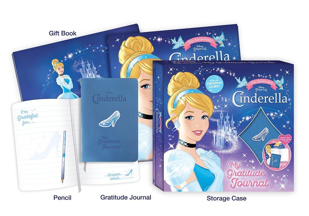 Disney Princess Cinderella My Gratitude Journal