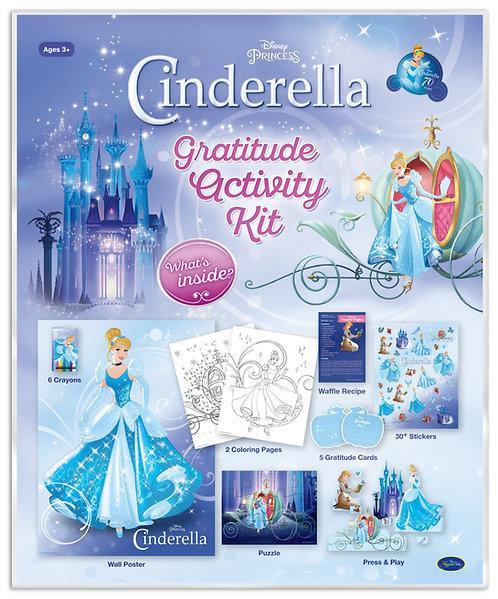 Disney Princess Cinderella Gratitude Activity Kit