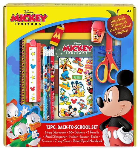 Disney Mickey's Back-to-School Storybook & Supplies Set