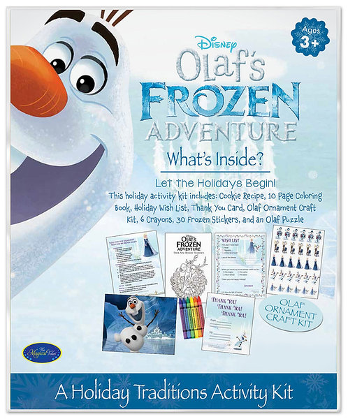 Disney Olaf's Frozen Adventure Holiday Activity Kit