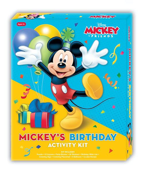 Disney Mickey's Birthday Activity Kit