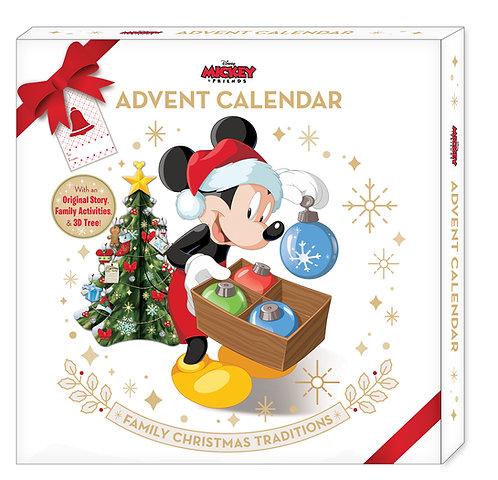 Disney Mickey & Friends Advent Calendar Family Christmas Traditions