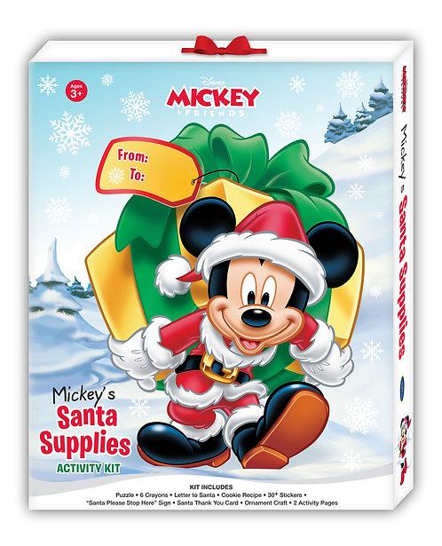 Disney Mickey's Santa Supplies Activity Kit