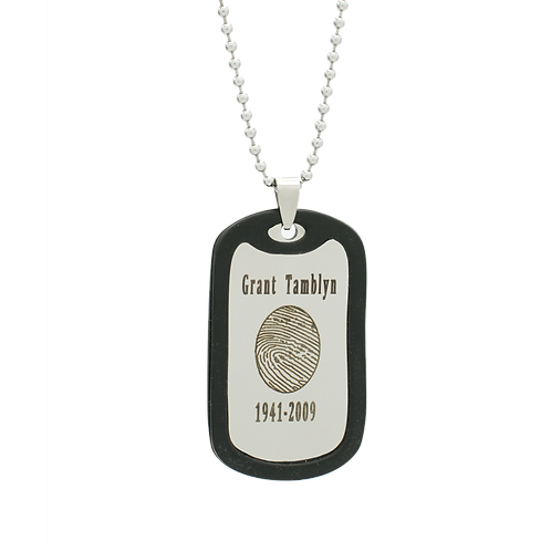 Stainless Steel Memory Tag