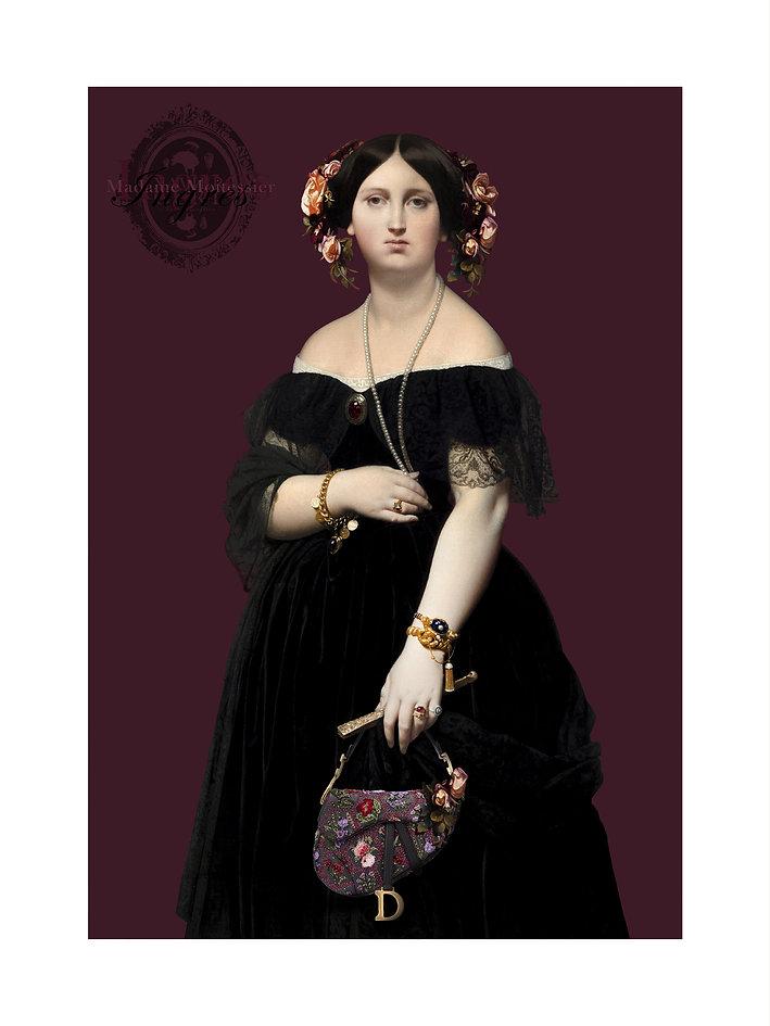 Madame Moitessier et son sac