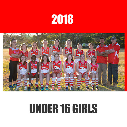 Under 16 Girls 2018